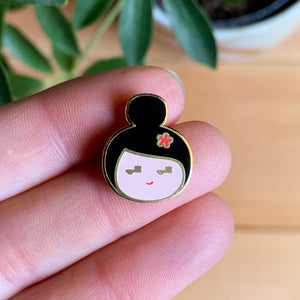Side-Eye Enamel Pin