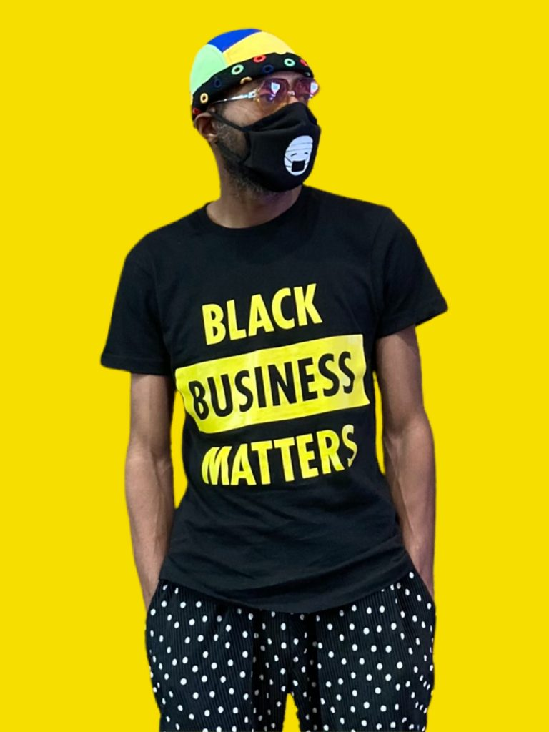 Black Business Matters (Yellow)