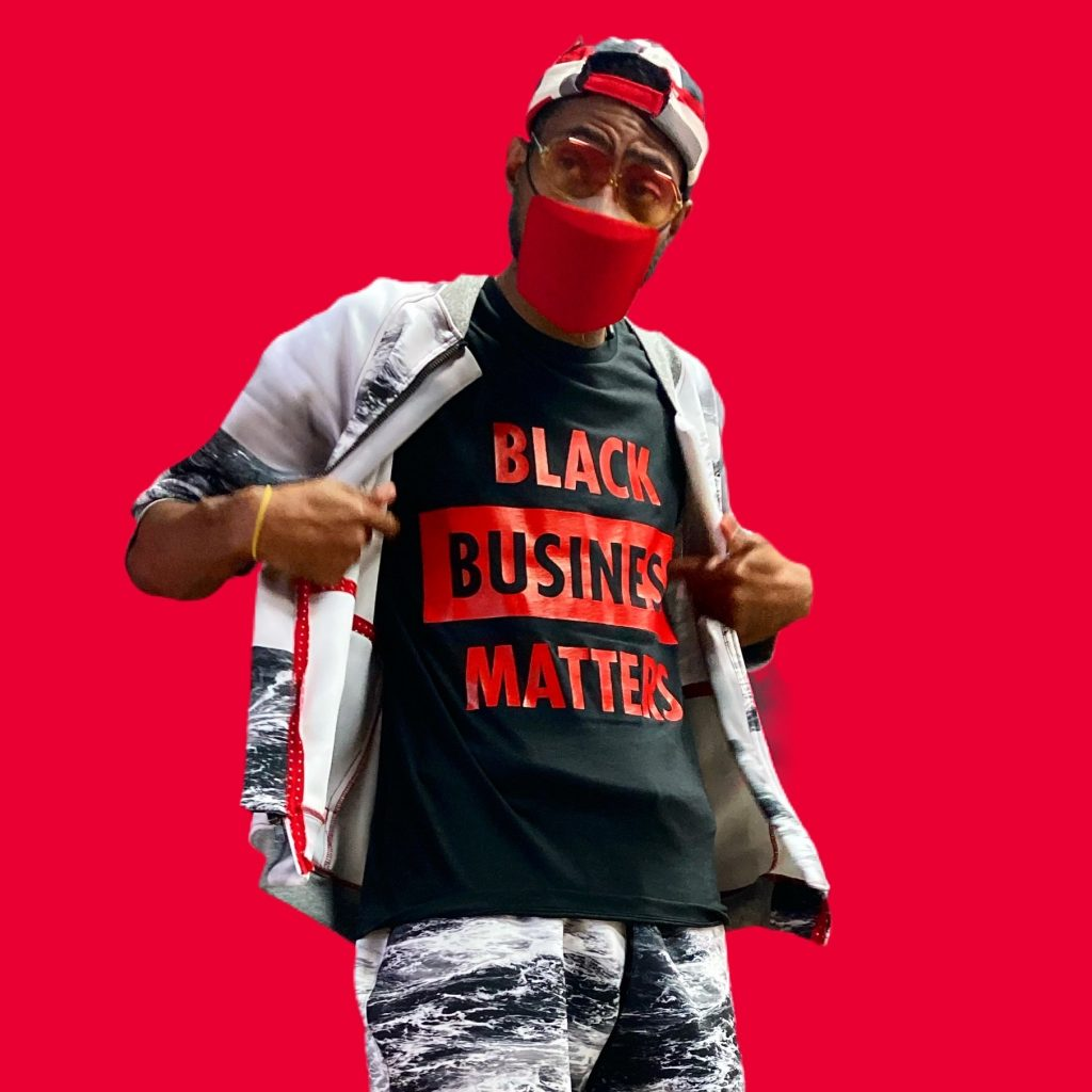 Black Business Matters (Red)