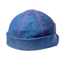 Load image into Gallery viewer, Denim Contrast CrewCap [OG]
