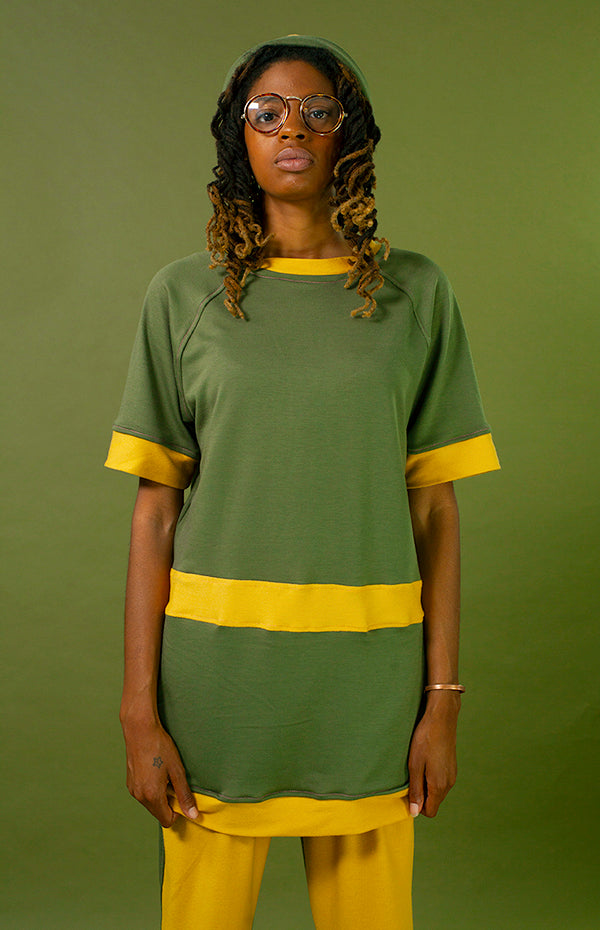 Jet Setter Tee [Olive/Muster]