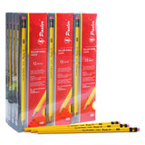1034 Yellow Pencil Pack of 12set of 144pcs