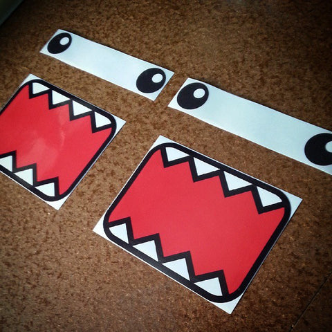 DOMObin sticker kit pair.
