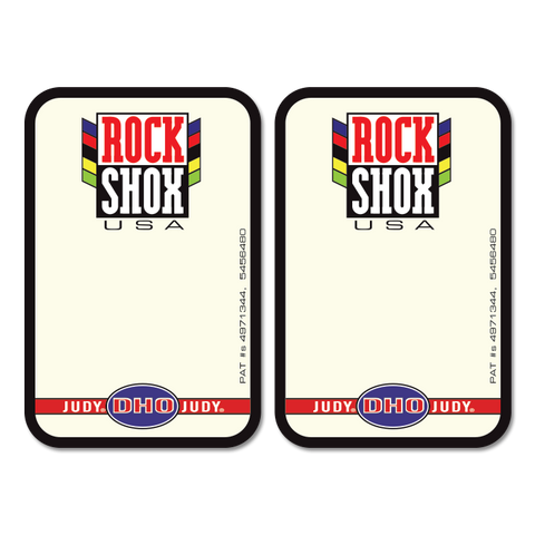Rock Shox Sticker Pair