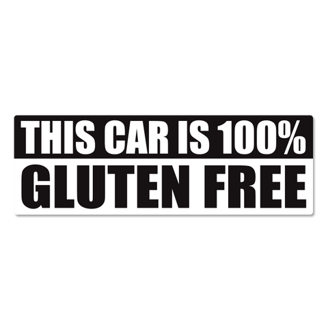 Gluten Free Car Sticker