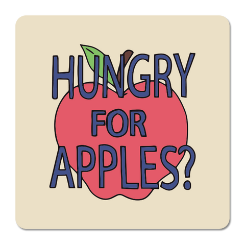 Hungry For Apples Sticker