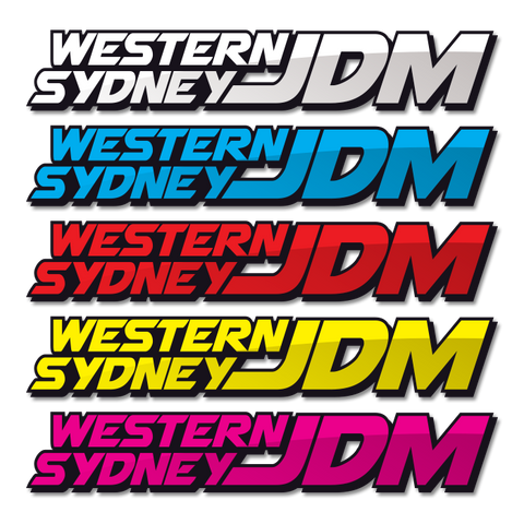 Western Sydney JDM Sticker - Large