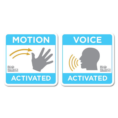 Motion & Voice Activated Sticker Pack