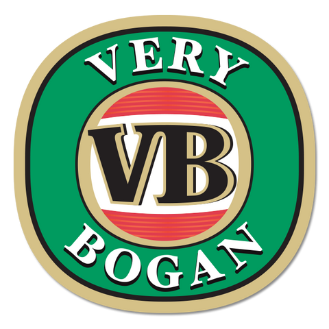 Very Bogan Sticker