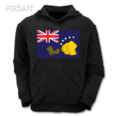 THE BOOT Australian Flag hoodie