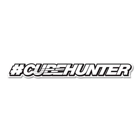 CubeHunter Sticker