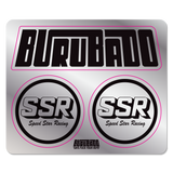 SSR Speedstar Sticker Sheet