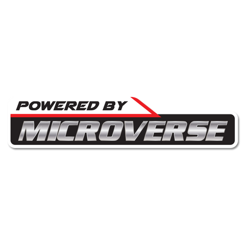 Powered By Microverse Sticker
