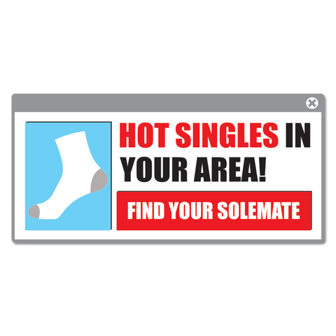 Hot Singles In Your Area Sticker