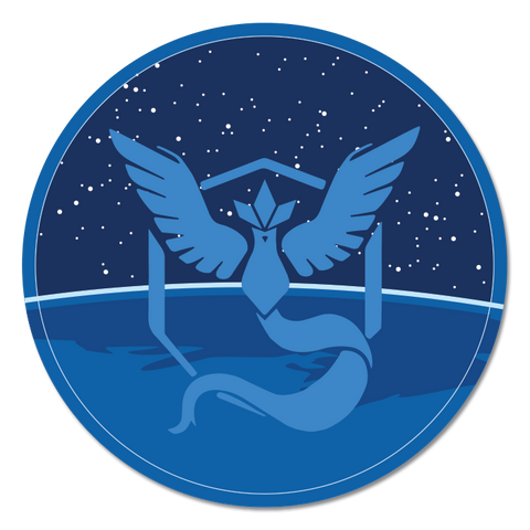 Team Mystic sticker