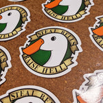 Untitled Goose Sticker