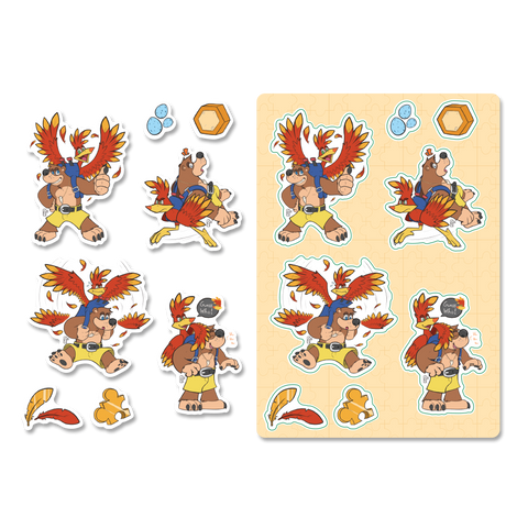 Banjo - Kazooie: Sticker Sheet