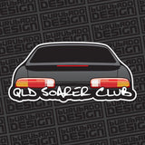 QLD Soarer Club Rear End Sticker