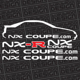 EXA/NX Club B13 Sticker Set