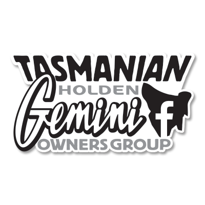 Tasmanian Gemini Owners Sticker