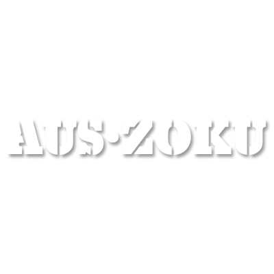 AusZoku Stencil Sticker - Small