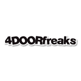 4DOORfreaks Sticker - Large