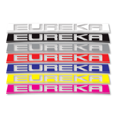 Eureka Rear Decal