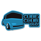 Cube Club QLD Sticker