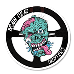 Brain Dead Drifters sticker