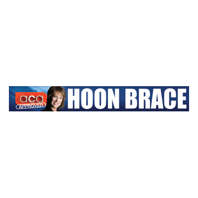 ACA Approved Hoon Brace Sticker