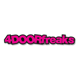 4DOORfreaks Sticker - Small