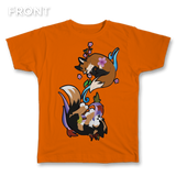 Fall with Spring Fox Tee