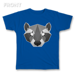 Geometric Raccoon Tee