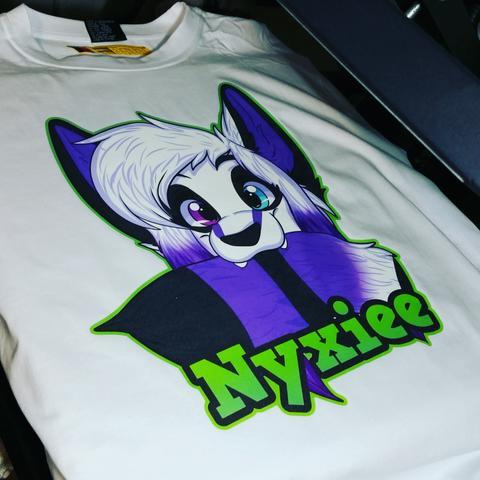 NeonFur 1 Sided Tee Order