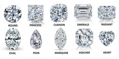 Loose GIA certified diamonds available in all shapes and sizes