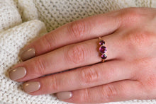 Load image into Gallery viewer, Vintage Pink Tourmaline Ring