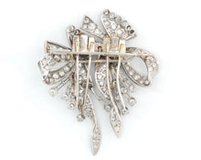 Load image into Gallery viewer, Antique Diamond Convertible Clip-Brooch