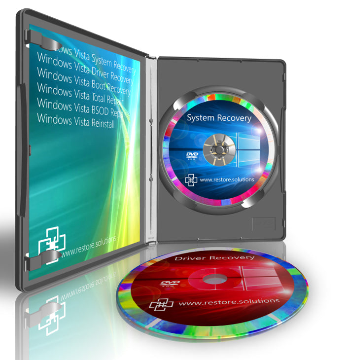 Windows Vista Recovery DVD Disc Set