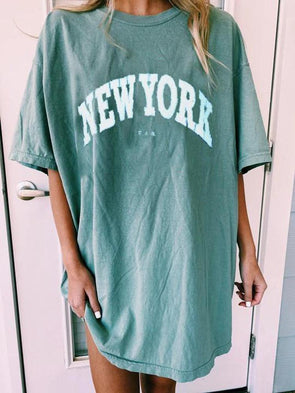 Green Light Green Letters Tee LC2522128-9