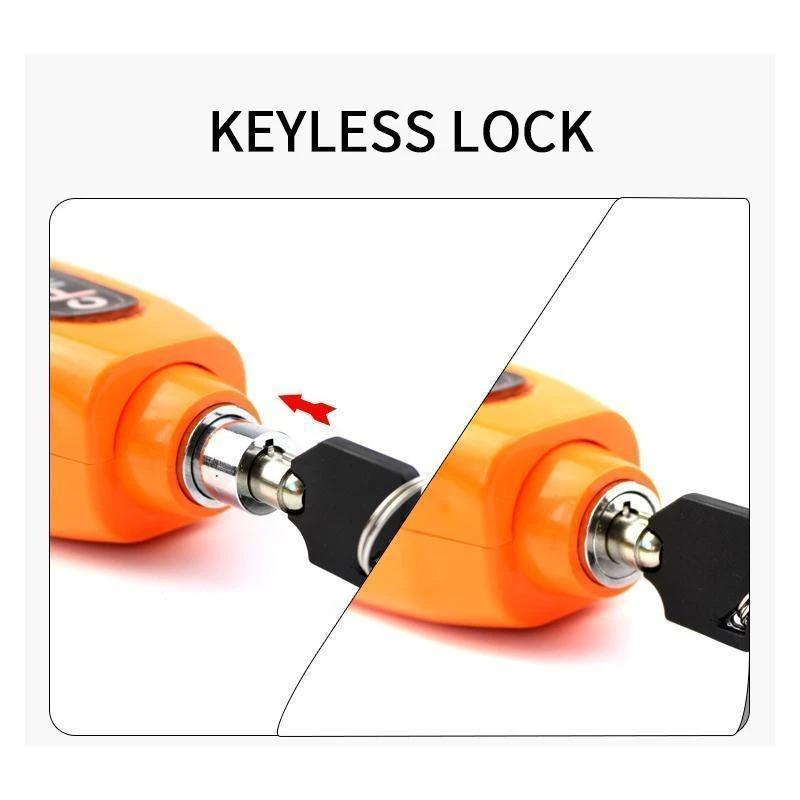 Effective Motorcycle Grip Lock Security