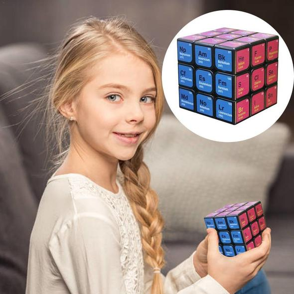 Clearance Price-26.86 Last day-Speed Rubik Cube 3x3x3 - Chemical Elements Magic Cube