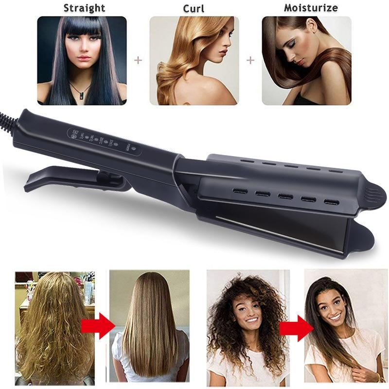 【UPGRADE VERSION】Tourmaline Ionic Flat Iron Hair Straightener