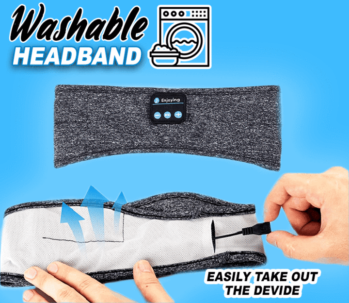 Clearance Price-34.86 Last day-Wireless Bluetooth Music Headband