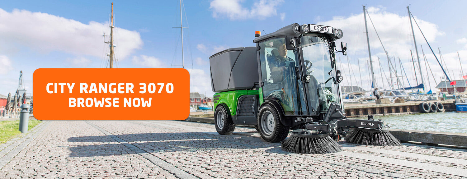 egholm-sweepers, street sweepers, road sweepers, ride-on sweepers, industrial sweepers