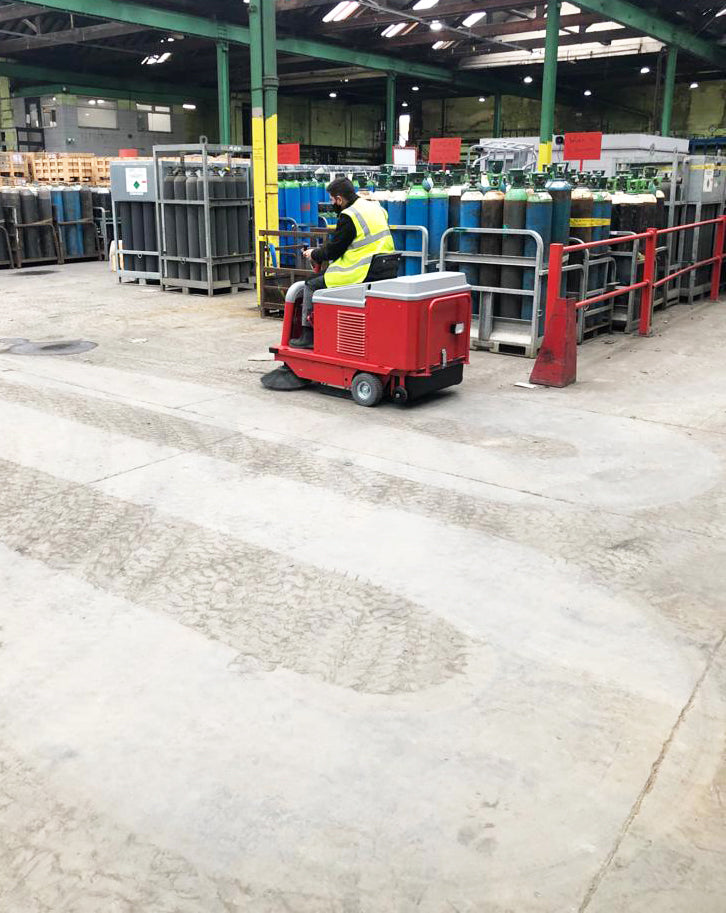 MAC SW70RB INDUSTRIAL SWEEPER - RUCK ENGINEERING