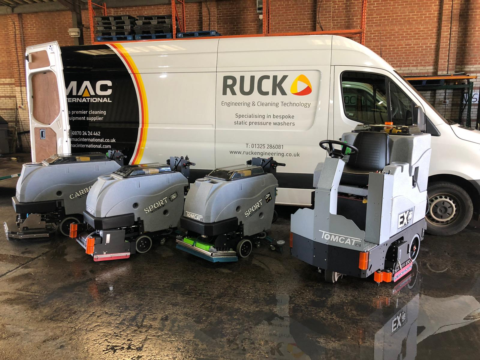 Ruck Engineering Supplying Cleaning Machines throughout the North East