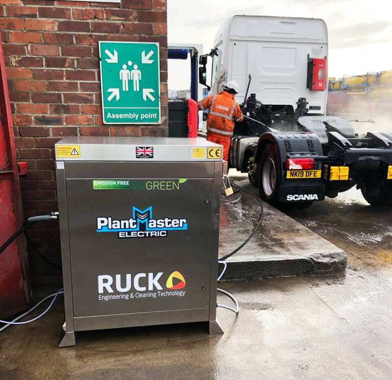 Ruck Engineering - Supplying pressure washer equipment throughout Teesside and the Tees Valley.