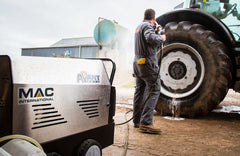 Ruck Engineering Darlington | MAC Avant Hot Mobile Pressure Washer Steam Cleaner Jet Washer Jet Cleaner North East