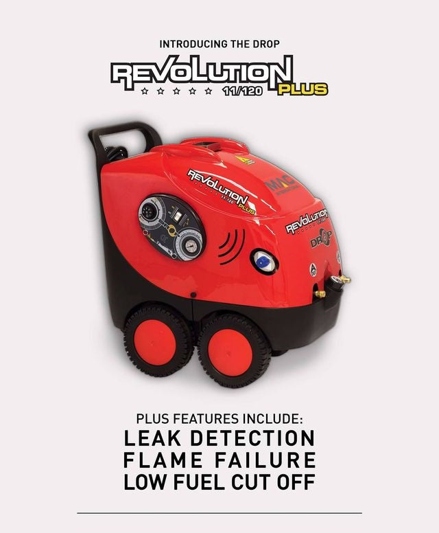 MAC DROP REVOLUTION PLUS HOT MOBILE PRESSURE WASHER