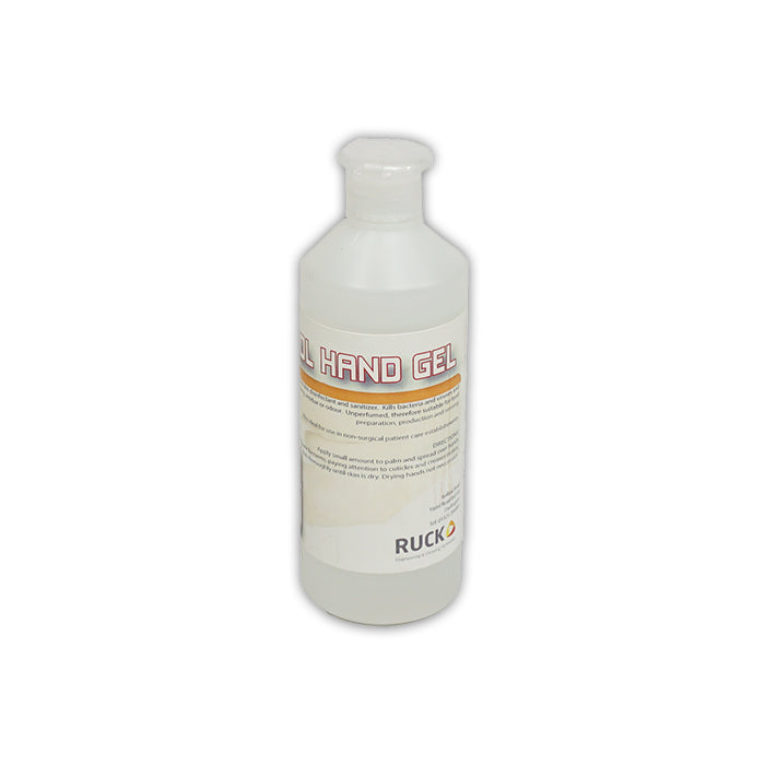 70% HAND SANITISER GEL - 20 x 500ML - Ruck Engineering